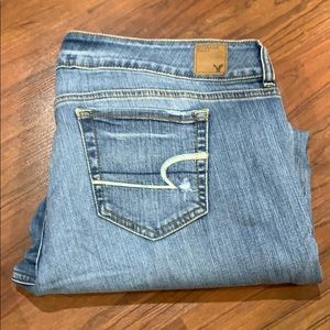 American Eagle artist jeans size 18